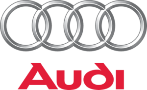 Zástava aut značky Audi