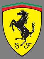 Zástava luxusních aut Ferrari